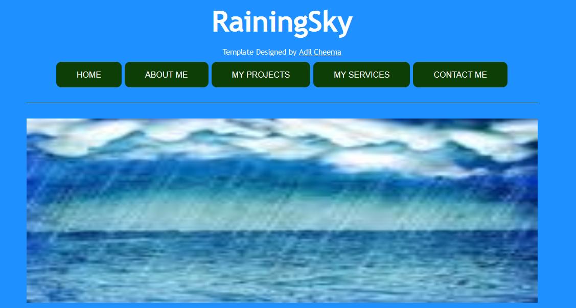 Raining Sky