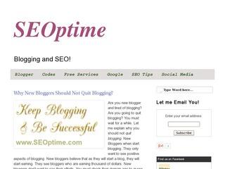 SEOptime | SEO and Blogging
