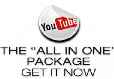 give you 46,000 YouTube VIEWS Including Likes Subscribers and Favorites