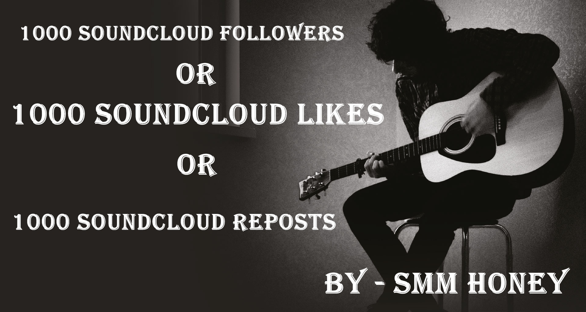 Give u 1000+ SOUND CLOUD followers or likes or reposts