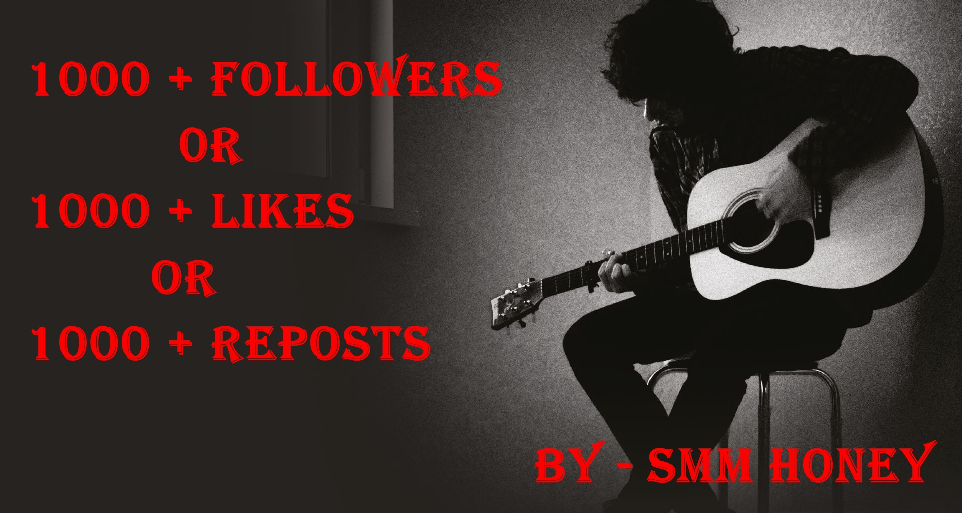 Give u 1000+ followers or likes or reposts
