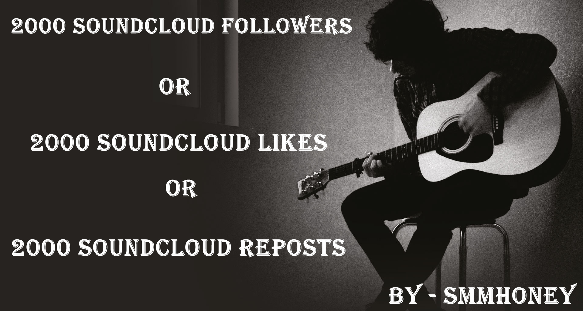 Give u 2000+ SOUND CLOUD followers or likes or reposts