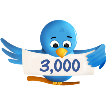 I will get you 3000+ twitter followers for $1