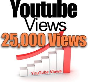 add 25,000+ YOUTUBE Views Guaranteed within 5 days