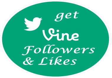 I will provide you 3000 Vine Followers/likes/revines