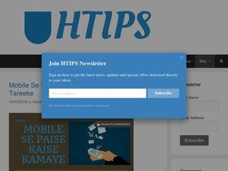 HTIPS Tips Sponsored Blog Review