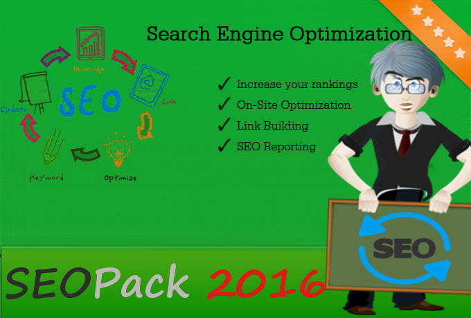 SEOPack - Backlinks, WEB 2.0s, Social Signals / Bookm... for $2
