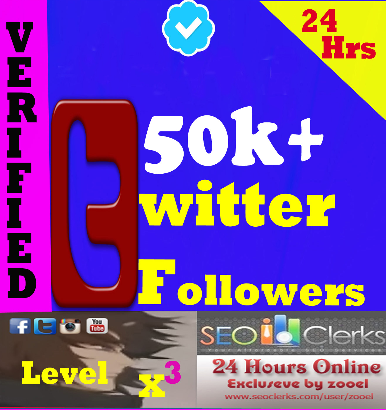 Cheapest 1000+ HQ USA-UK-Japan Twitter Followers