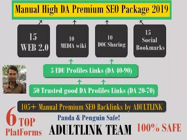 No.1 Manual High DA Premium SEO RANKING PACKAGE THAT ...