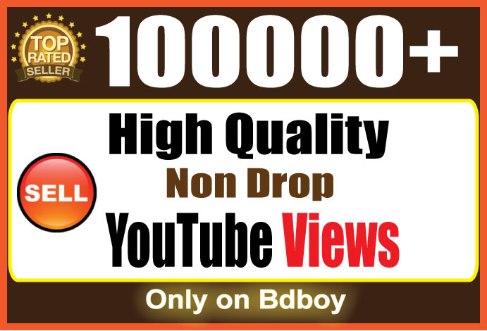 Give You 500,000 YouTube High Retention Views And 100 Likes To Your Video