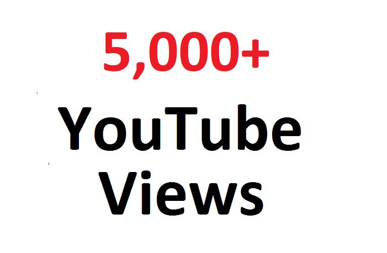 add 5000 5K SAFE YouTube views guaranteed can split