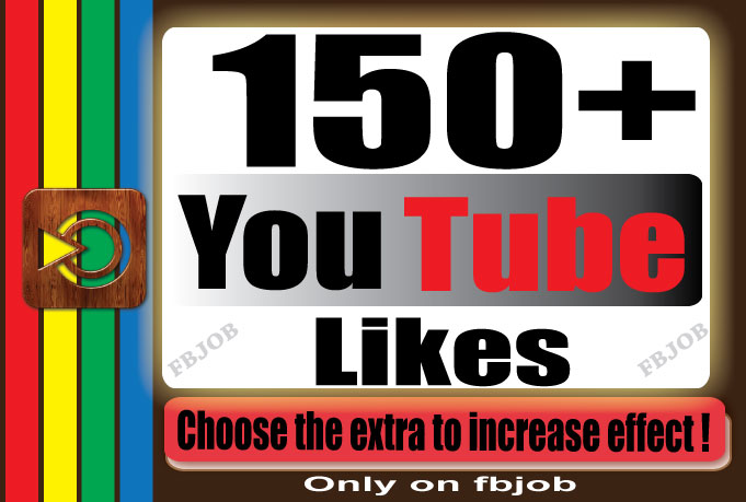 get you super fast 150+ YouTube likes for your Video