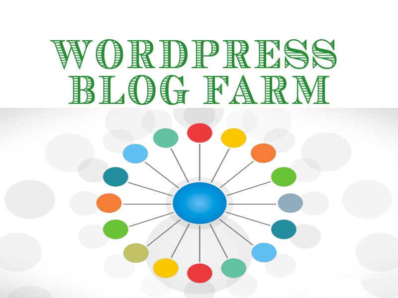 30 wordpress blog farm linking back to your money site