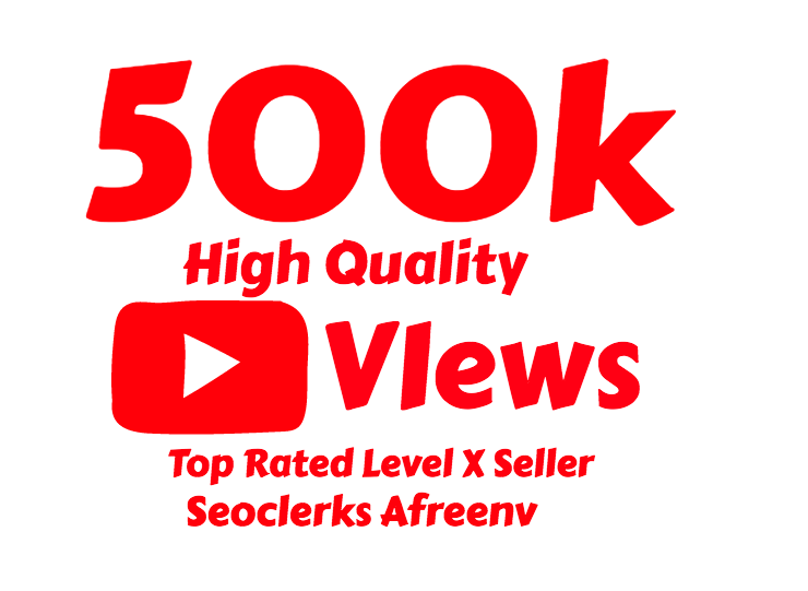 I will add 500,000 Youtube View