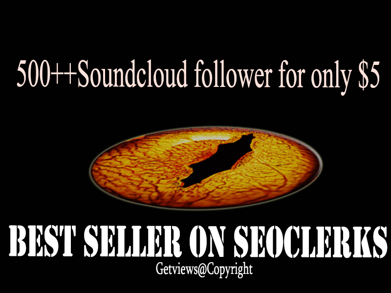 Give you 500+ Soundcloud Followers OR Like OR repost