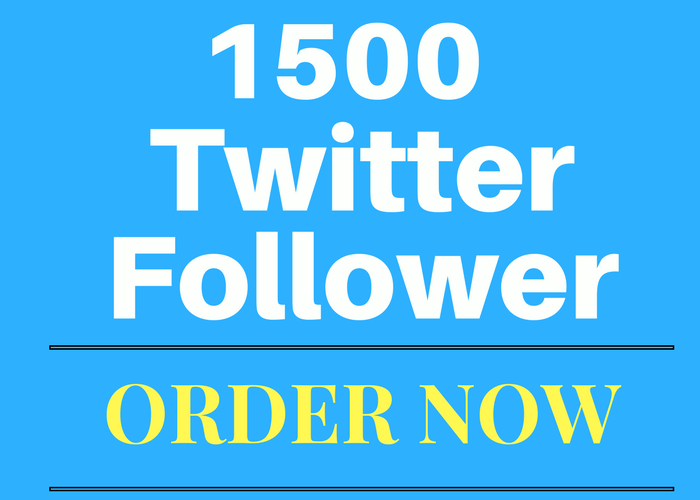 give you 1500+ twitter follows within 24-48 hours