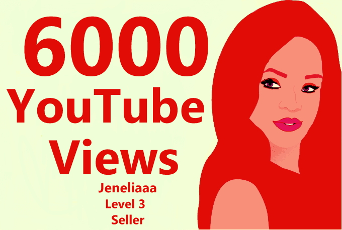 Give Instant 6000-7000 High Quality View's on your video