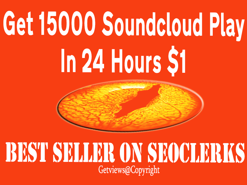 15000 soundcloud plays in your track