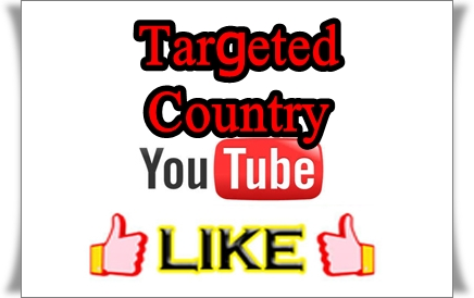 Give You 110+ Targeted Country Youtube Video Likes Fast Delivery