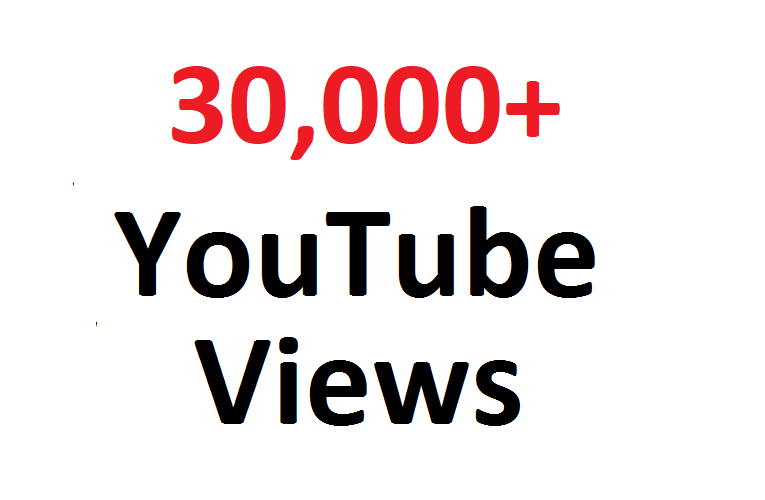 add 30000 30K SAFE YouTube views guaranteed