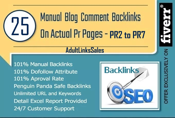 I Will Make Manually 25 Dofollow Blog Comments Actual PR2 To PR7