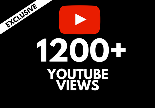 NEW !!! give you 1200+  YOUTUBE HR Vie ws FAST and SAFE!