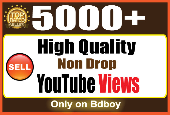 Instant start 6000 YouTube Views Within 24-48 Hours
