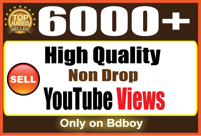 Instant start 6000 You+Tube Views Within 24-48 Hours