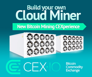 Make Money 24/24 Autopilot Bitcoin Cloud Mining Get 0.1GH/s CEX Voucher Code for Lifetime Earnings
