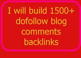 build 1500+ dofollow blog comments backlinks##@@!!