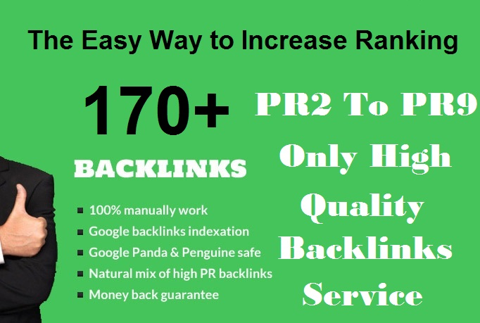 Create Manual 170+ High Quality Social Media Dofollow Backlinks High PR2 to PR9