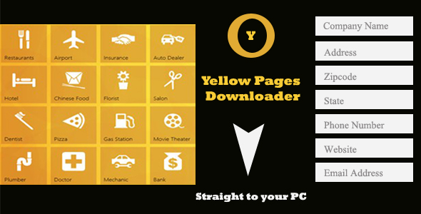 Yellow Pages Downloader
