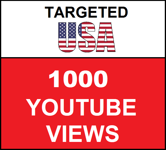 Added 1,000 USA Geo Targeted  youtube video boosting