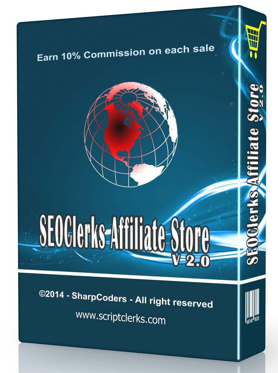 SEOClerks Affiliate Store (Responsive) 2017