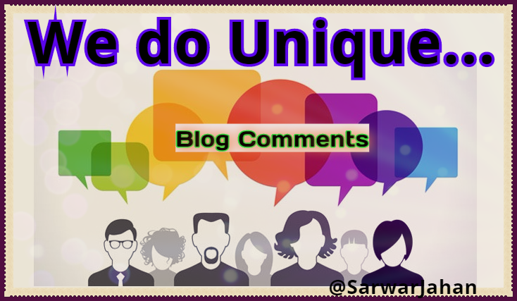 High quality, Manual & Nice Typing 7++ Blog Comments of min PR1- PR5 only