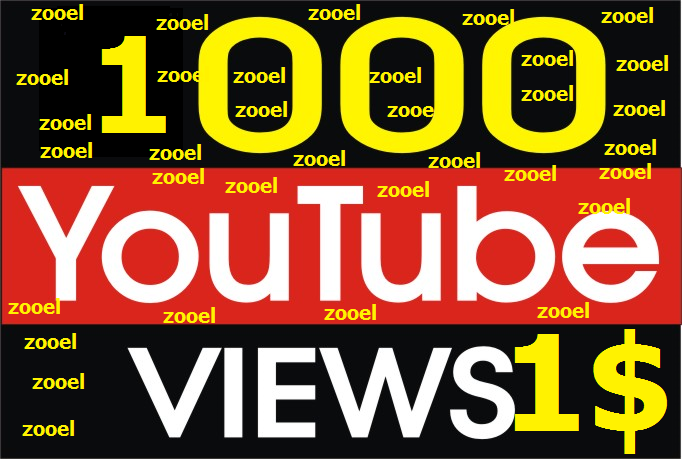 1000+ Non Drop YouTube Vie ws with fast delivery