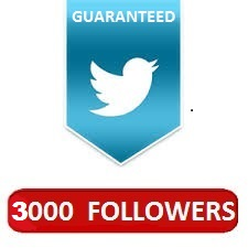 Provide you verified 2000+ twitter followers for $1