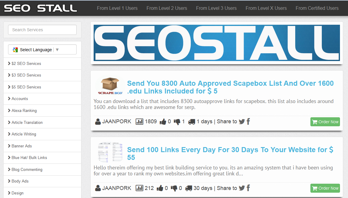 Way to EARN $100 USD/MO BY RUNNING SEOCLERK AFFILIATE STORE - PREMIUM SCRIPT with API