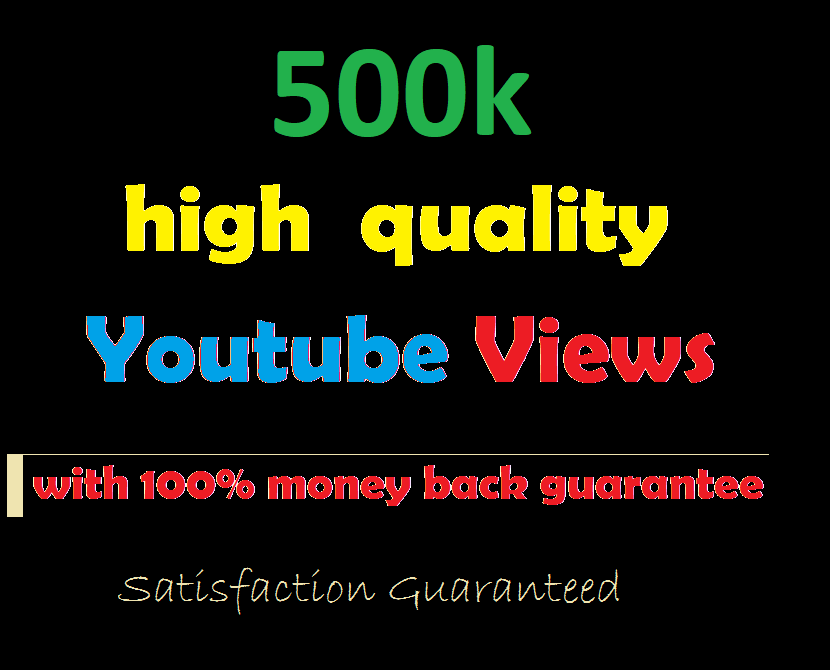 Buy 500k Non-Drop Views