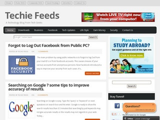 TechieFeeds. com Guest Post,  Ad or Sponsored Review