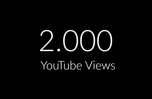 2.000 Real High Retention Views In 24 Hours