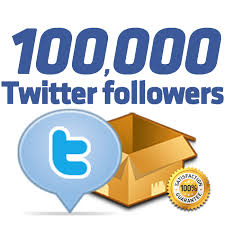 100,000+ Authentic Twiter foll0wers just