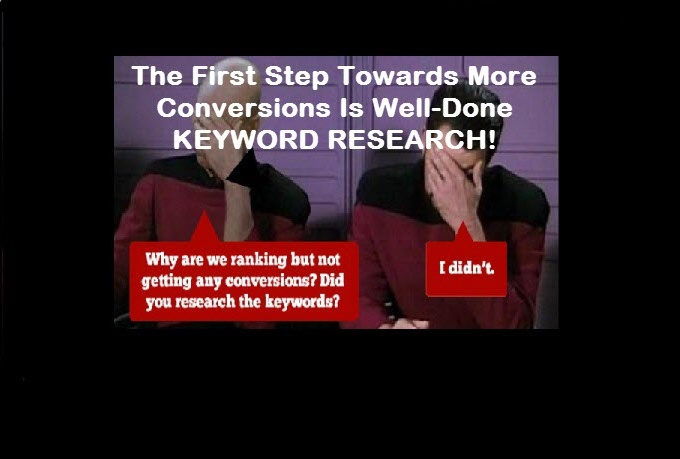 do keyword research for ONE targeted kw you can rank fast