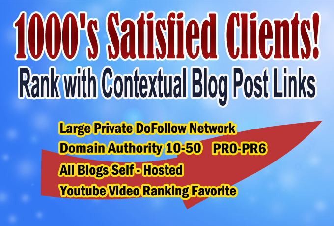 help Your Rankings with 90 Dofollow Contextual Links on 30 WP Blogs