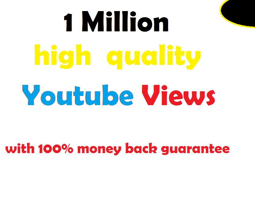 1 million Youtube Views within 24 hours