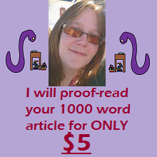 I Will Proofread Your 1000 Word Article