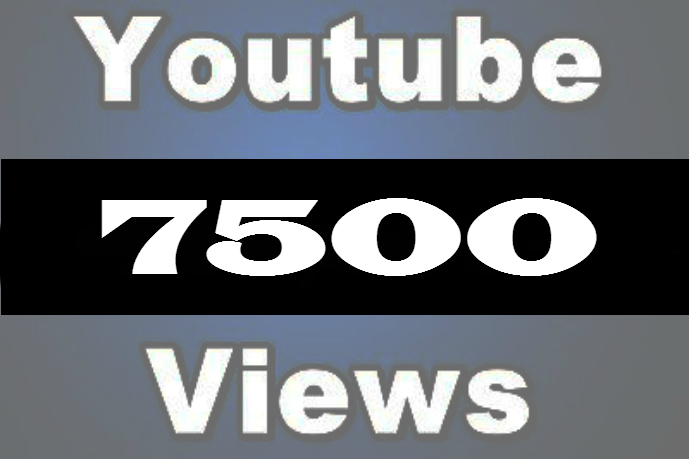 Get 4000+  youtube views  in cheap price