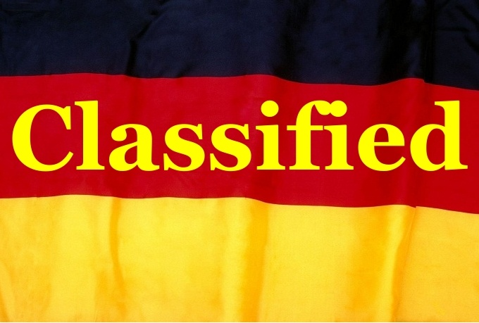 publish your business or service to 11 German high pr classified sites with pic