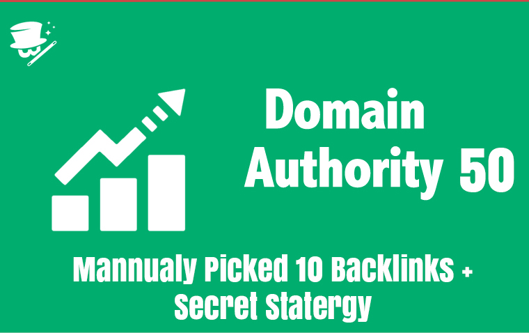 10 QUALITY DA 50 BACKLINKS - November Update