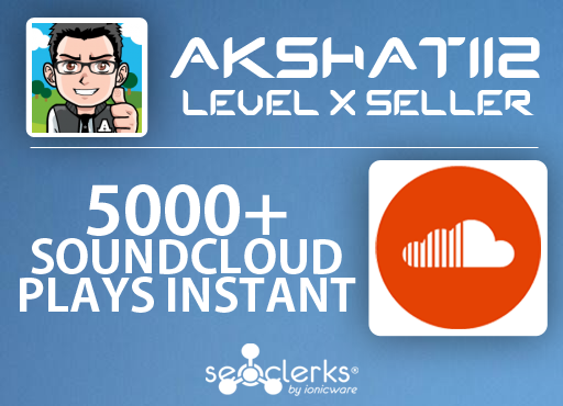Add 5000+ SoundCloud Plays to your Track Instantly